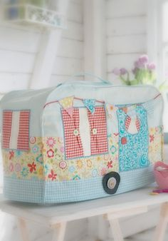 sewing machine cover   ~Debbie Orcutt ❤