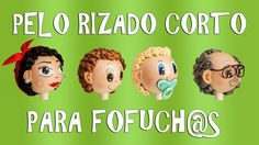 PELO RIZADO CORTO PARA FOFUCH@S - GOMA EVA Eva Hair, Foam Sheets, All Craft, New Hobbies, Making Out, Baby Dolls, Youtube, Crafts, How To Make