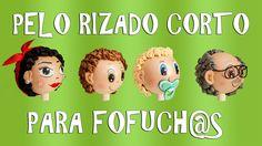 PELO RIZADO CORTO PARA FOFUCH@S - GOMA EVA