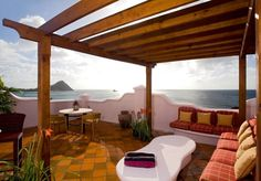 The Best Resorts in the Caribbean: St Lucia, Virgin Islands, Antigua, St Barts and More - Condé Nast Traveler Caribbean Resort, Caribbean Vacations, Ocean View Villas, Sainte Lucie, Most Romantic Places, Shade Trees, Best Resorts, Great Hotel, Pergola Shade