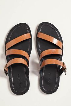 955c576f8ea29a Leather sandals are back this year. Searching for a new pair and came  across these from Dan Ward.