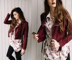 Stacey Gray Macdonald - Drop Dead Lowtuss Shirt, Boohoo Bella Suedette Tassle Crop Jacket, Asos Ridley Ripped High Waist Jeans - Lowtuss