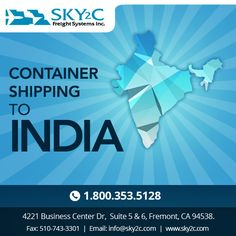 Complete ocean freight services and Full #Container #Shipping are available to US, #India, China and Europe.