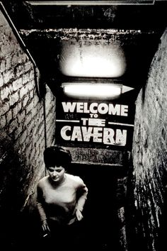 Vintage photo from the Cavern Club in Liverpool.   Oh what happened here...it would have been amazing to have seen it!