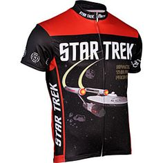 ThinkGeek :: Star Trek Cycle Jersey