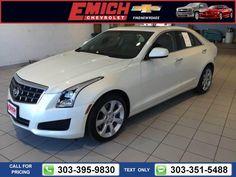 2013 Cadillac ATS 2.0L Turbo 27k miles $23,499 27586 miles 303-395-9830  #Cadillac #ATS #used #cars #EmichChevrolet #Denver #CO #tapcars