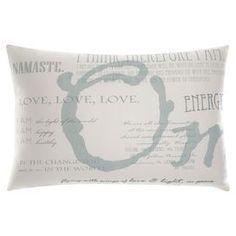 Under The Canopy® Mystic Serenity Oblong Toss Pillow Toss Pillows, Floor Pillows, Decorative Throw Pillows, Bed Pillows, Home Office Furniture, Furniture Decor, Dream Decor, Joss And Main, Home Crafts