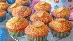 MAGDALENAS de naranja, ¡no pueden ser más FÁCILES y RÁPIDAS de hacer!