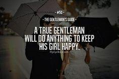 The Gentleman's Guide #50