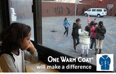 Everyone should have a warm coat. Anyone can hold a coat drive. Learn how!
