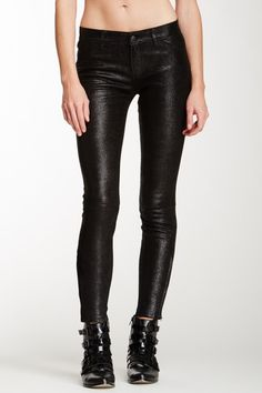 Mid-Rise Stretch Suede Pant on HauteLook
