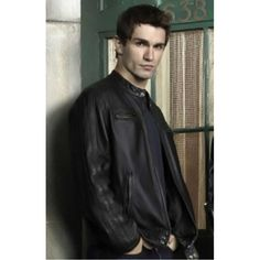 Aidan Waite Being Human (Sam Witwer) Leather Jacket