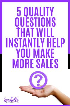 How do you qualify your prospects? In this post, I shared the 5 quality questions that will instantly help you make more sales. Pin now and check this out! Social Media Digital Marketing, Social Media Tips, Content Marketing, Internet Marketing, Online Marketing, Seo Guide, Seo Tips, Online Business, About Me Blog