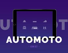 "Check out new work on my @Behance portfolio: ""Automoto icon set"" http://be.net/gallery/50106775/Automoto-icon-set"