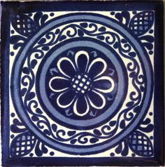 Talavera Tiles | BLUE & WHITE TILES