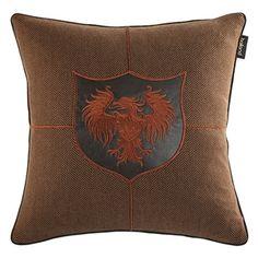 (EU Lager)Kissenhülle Modern aus Flannel Stickerei Design-B