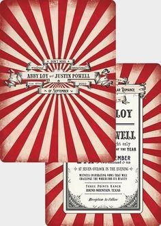 tent stripe invite
