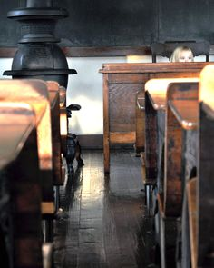 Something about the smell of an old schoolhouse . . .