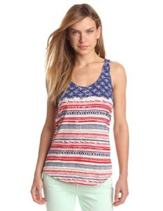 Lucky Brand Women's Tribal Flag Racer Back Tank, Red/White/Blue, Medium Lucky Brand,http://www.amazon.com/dp/B00BQLT6TI/ref=cm_sw_r_pi_dp_Wdo2rb0W5BW2M966