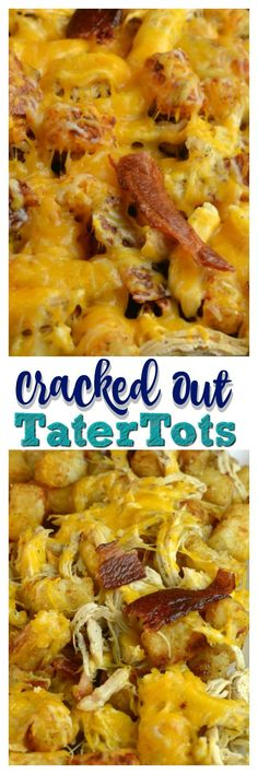 Cracked Up TaterTots with Instant Pot Ranch Chicken