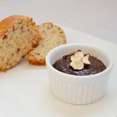 spiced banana chocolate jam