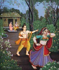 Manifestations of the major Hindu deities Shiva Hindu, Hindu Deities, Krishna Art, Hindu Art, Indian Art Paintings, Classic Paintings, Rama Lord, Hanuman Photos, Lord Rama Images