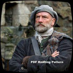PDF Knitting Pattern Outlander Scottish Highlands by KnitzyBlonde