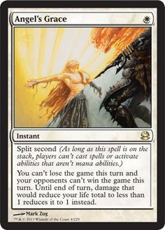 Magic: the Gathering - Angel's Grace - Modern Masters