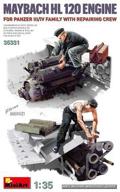 Oil Drum, Model Tanks, Maybach, Armored Vehicles, Tool Set, Plastic Models, World War Ii, Scale Models, Motors