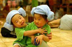 little boys at jimjillbang