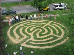 implementing the labyrinth garden