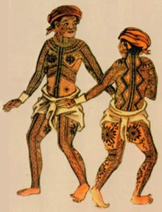 Tattoo History - Philippine Prince Giolo Tattoo Images - History of Tattoos and Tattooing Worldwide Traditional Filipino Tattoo, Traditional Tattoos, Philippines Tattoo, Tattoo Museum, Filipino Tribal Tattoos, Samoan Tribal, Polynesian Tattoos, History Tattoos, Filipino Culture