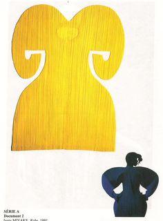"""""""robe"""" (1991), Issey Miyake. Le modèle porté est photographié par Irving penn"""