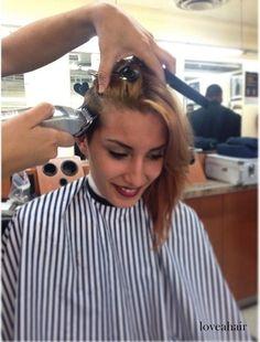 girl in barbershop on Flickr.girl in barbershop