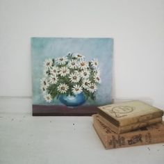Spanish House, Vintage Floral, Nostalgia, Decorative Boxes, Painting, Paintings, Draw, Decorative Storage Boxes, Drawings