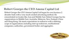 CEO of Amena Capital Ltd