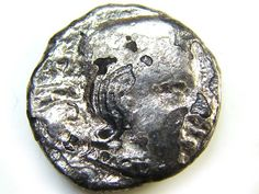silver drachms  Western Kshatrapas, India, 2nd-4th cen AC146 silver coins , indian silver coin  , ancient silver  coin, ancient
