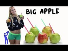 Okay I'm sure there is a healthy way to modify this!! The Big Apple Cocktail - Tipsy Bartender - YouTube
