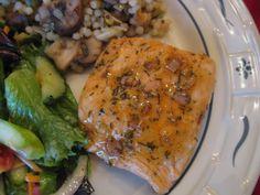 Honey Glazed Salmon / Thank You! Thank you! » Nutmeg Notebook