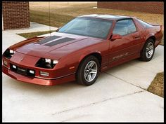 1987 Chevrolet Camaro IROC Z28 . Always feel so bad, my boyfriend bought one of these brand new to please me and I dumped him shortly after.