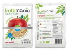 front and back illustration information new generation of healthy food beverages