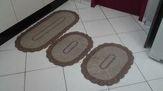 Jogo de tapetes 3 peças para cozinha | Sonho de Casa | Elo7