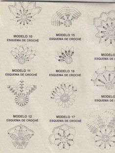 Crochet ideas that you'll love Crochet Snowflake Pattern, Crochet Snowflakes, Crochet Motif, Crochet Doilies, Crochet Flowers, Crochet Stitches, Knit Crochet, Crochet Christmas Ornaments, Christmas Crochet Patterns