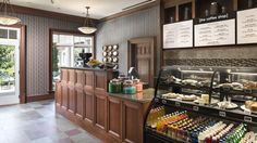 [the coffee shop] Reynolds Plantation - love the woodwork!