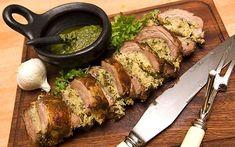 Easter 2009 recipes: Stuffed breast of lamb