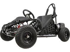 MotoTec Off Road Go Kart 48v 1000w Black - MotoTec Gas Powered Off Road Go Kart