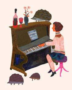 The Piano brings all the hedgehogs to the yard-and your darn right-they're better than yours, Arielle.