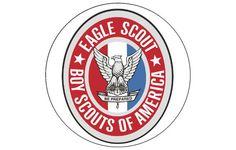 EAGLE scout emblem EDIBLE image cake topper by FairymomsEdibles