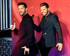 Ricky Martin and his wax figure were livin' la vida loca at Madame Tussauds in Las Vegas on Wednesday.