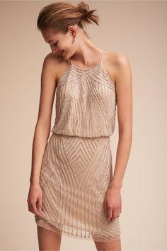 Rehearsal dinner dress? BHLDN Grand Central Dress in Bride Little White Dresses | BHLDN